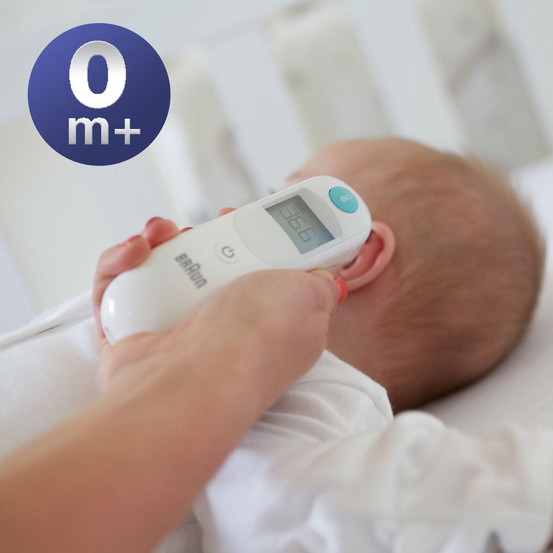ушной термометр, измерение температуры в ухе, измерение температуры на барабанной перепонке